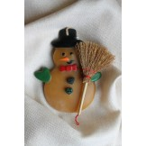 Decorated Festive Snowman