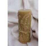 Fern Pillar Candle